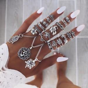 925 ezüst gyűrűk a Syam Silvertől